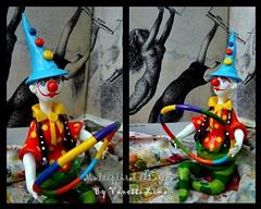 Bambol (Art Vanessa Lima) Tags: clown artesanato paz palhaos cabaas porongos vanessalima