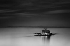 China Camp Island (maxxsmart) Tags: california bw seascape tree water canon landscape island lee nd bayarea marincounty sanrafael sanpablobay bayscape ndgrad calififornia 5dmarkii