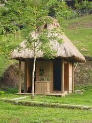 The showers at El Retiro Lodge.