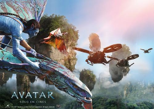 Thumb Nuevo poster de Avatar: Banshee, Leonopteryx y Valkyrias