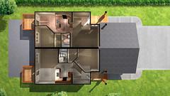 Ironwolf Duplex - Basement Floor Plan (Zensoft Studios) Tags: architecture 3d perspective paintover archviz zensoft