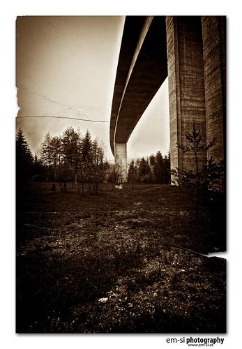 Autobahnbrücke in Winkl