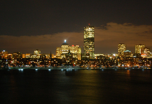 MegaTweetup 2009 Boston Skyline
