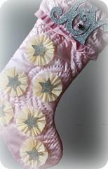 Joy Shabby Chic Stocking