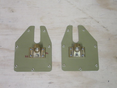 Trim Tab Cable Brackets Attached