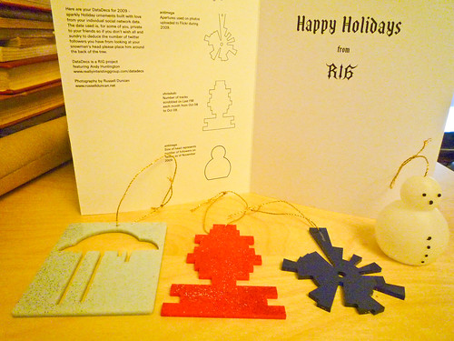 a RIG lasercut Christmas