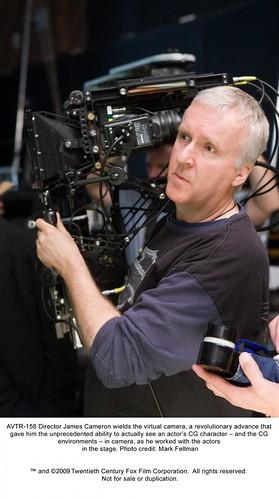 091216 - 電影『AVATAR』詹姆斯·卡麥隆導演接受MTV專訪,發表真人電影版『銃夢』最新製作進度