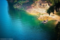 Kaptai Lake ((_.*`*.ChobiWaLa.*`*._)) Tags: lake color nature water beauty river boat nikon bangladesh chittagong rangamati kaptai kaptailake chobiwala ripervez shudhuibanglarangamativromon