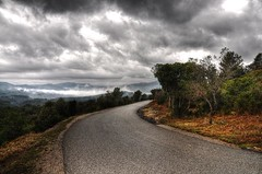 Provence Winter 5 (marcovdz) Tags: road winter france wet fog clouds hiver route provence nuages hdr brume humide 3xp