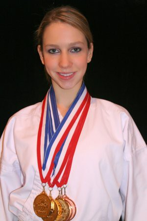 Christina's extracurricular activities included Karate Junior Olympics in 2005 (age 15).