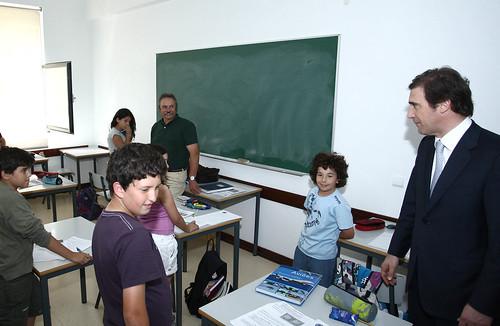 Pedro Passos Coelho visita o Externato João Alberto Faria na Arruda dos Vinhos
