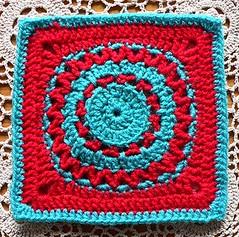 Eye of The Beholder (Lindevrouwsweb) Tags: grannysquare haken vierkantjes
