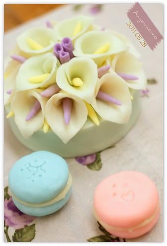 天使媽媽蛋糕皂教學 043