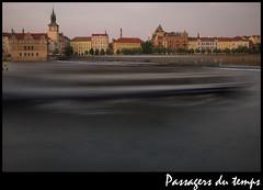 Prague et la Vtlava (gmouret92) Tags: river pose long exposure prague prag rivire filter vltava filtre neutral longue neutre