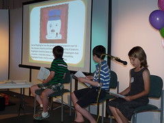 PBS KIDS GO Writers Contest 2011