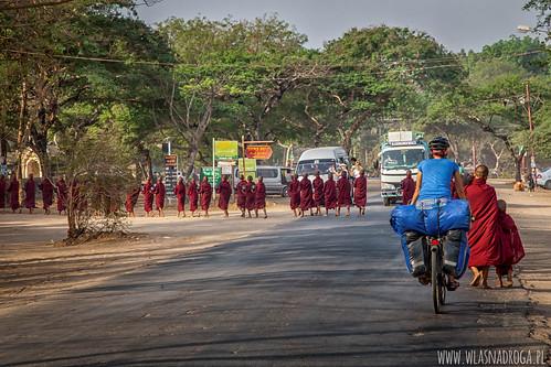 O poranku w Bagan