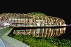 IST Building, Florida Polytechnic University, 4700 Research Way, Lakeland, Florida, USA / Architect: Santiago Calatrava / Contruction ended: 2014 (Jorge Marco Molina) Tags: lakeland polkcounty florida historical city cityscape urban downtown skyline centralflorida centralbusinessdistrict skyscraper building architecture commercialproperty cosmopolitan metro metropolitan metropolis sunshinestate realestate commercialoffice modernism postmodern modernarchitecture lakemirror mortonlake reflection istbuilding floridapolytechnicuniversity 4700researchway usa architectsantiagocalatrava 2014