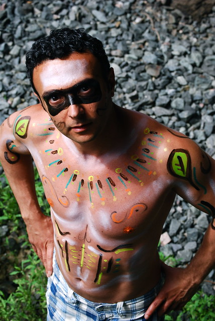 body paint and graffiti design 5