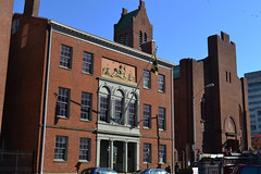 Baltimore's Peale Museum (Monument City) Tags: plaza old city usa church monument senior museum town hall md memorial war downtown order kurt maryland charles center baltimore historic wilson conference zion lutheran rembrandt doric 1814 peale meorial schmoke monumentcity hccity robertcarylong