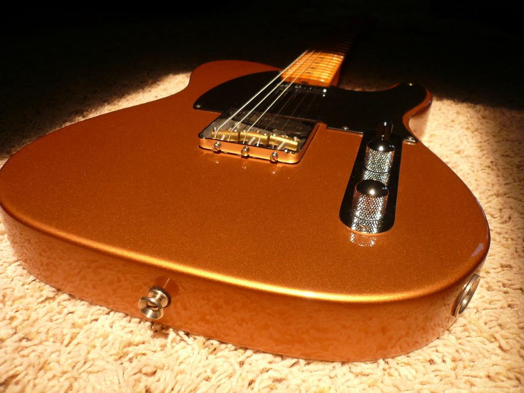 "Cheap Deals Com >> FS / FT Fender '52 AVRI Telecaster Copper Metallic ""The ..."