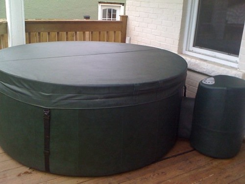 My new hot tub