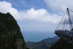 Gunung Machincang pt2 - Bridge (~ kokstang) Tags: sunset car train traditional cable hanging lama penang langkawi brigde rumah bukit tradisional bendera helang mahsuri