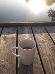 Kaffe in Ulm (mathiaseigl) Tags: see kaffee sonne ulm steg morgens