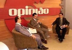 Dep. Bruno Covas participou do programa Opinião da TV Record Litoral de Santos (Bruno Covas) Tags: tv santos destaque interessante