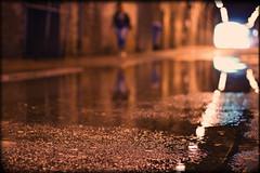 Friday;-) (Che-burashka) Tags: street light urban blur reflection london water reflections londonbridge puddle 50mm bokeh streetphotography tunnel friday tunnels gettys southwark shallowdepthoffield lightattheendofthetunnel wetknees urbanlyric