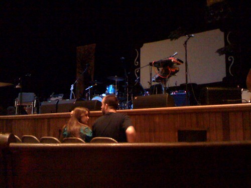 My View At The Ryman On Saturday Night