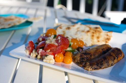 a greek like dinner