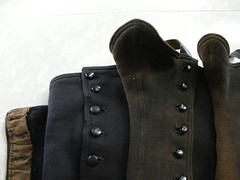 at long last, my pretties..... (G R E A T E S T F R I E N D) Tags: autumn gothic goth etsy kneehigh overtheknee historicclothing greatestfriend victorianspats blackaccesories