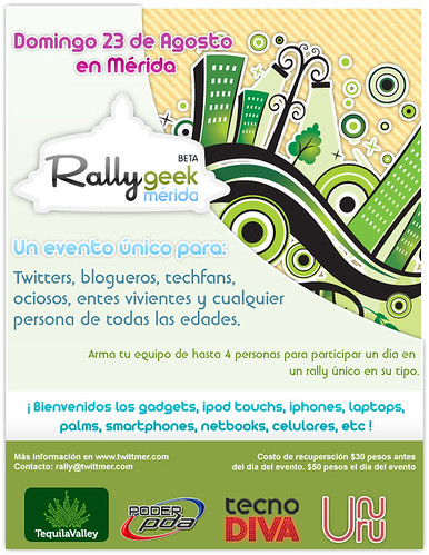 1er Rally Geek Mérida