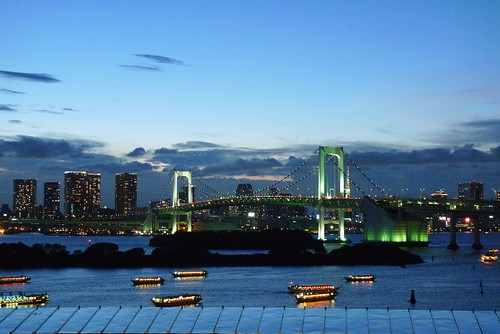 Nightshot at Odaiba