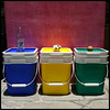 *recycle (uteart) Tags: blue green yellow explore recycle frontpage containers explorefrontpage utehagen uteart