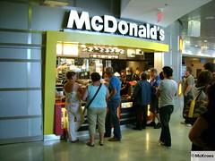 McDonald's Miami Dade International Airport Terminal J (USA)