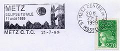 11 AOÛT 1999 / ECLIPSE TOTALE DU SOLEIL / METZ
