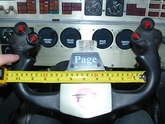 P1020873 (HRhV) Tags: museum coventry steeringwheel thrustssc
