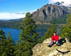 Mirador Lago Gutierrez / Bariloche (Facu551) Tags: patagonia lake argentina lago ventana san autoretrato carlos cerro gutierrez sur mirador bariloche rionegro