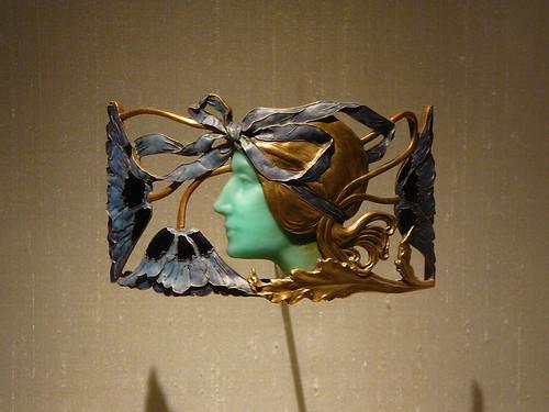 Una pieza de la amplia colección que Gulbenkian hizo de su amigo René Lalique.