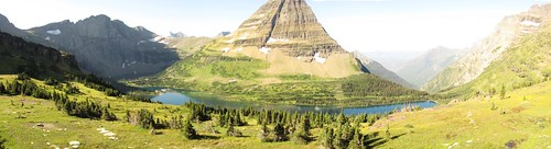 Hidden Lake Pano