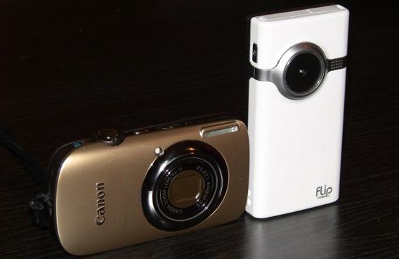 Canon SD960 IS Vs. Flip Mino