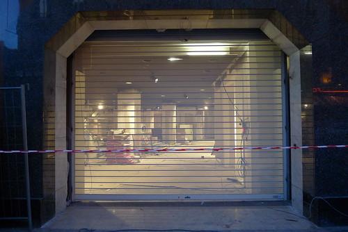 Futur H&M rue Lafayette août 2009