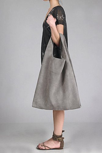 big grey bag