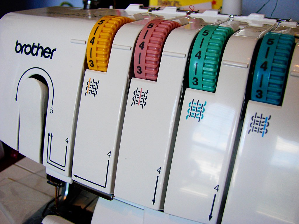 Serger closeup
