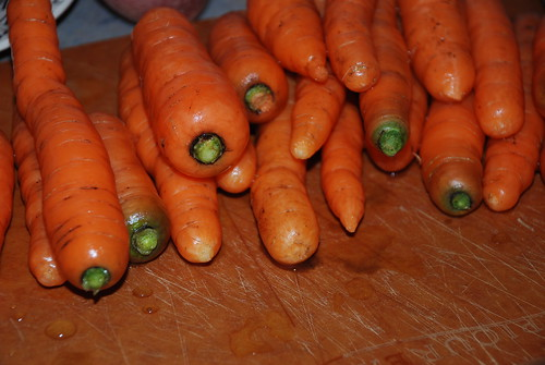 shiny carrots