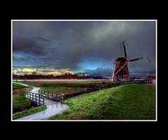 Landscape (Theo Kelderman) Tags: haarlem netherlands canon landscape nederland 2009 bloemen molen augustus landschap schalkwijk dehommel theokeldermanphotography