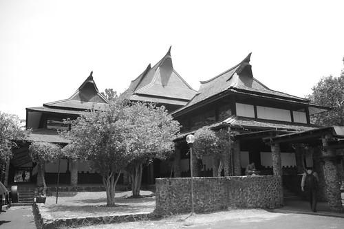 Aula Barat ITB - Entrance