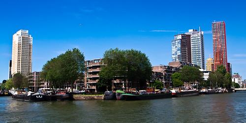 Rotterdam. Leuvenhaven