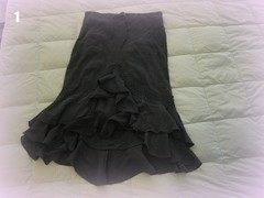 Black Rhumba Skirt